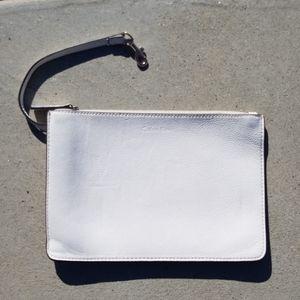 🆕  Calvin Klein White Wristlet